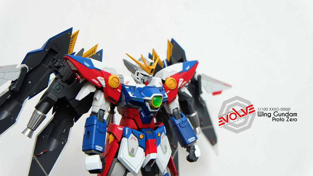 [1801] Custom Build MG 1/100 Wing Proto Zero