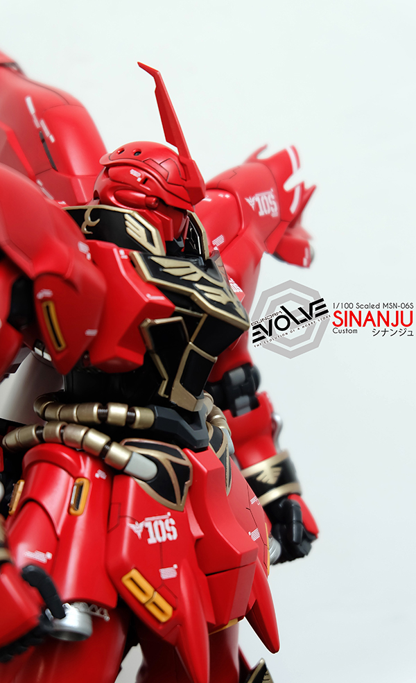 [1712] Custom Build MG 1/100 Sinanju