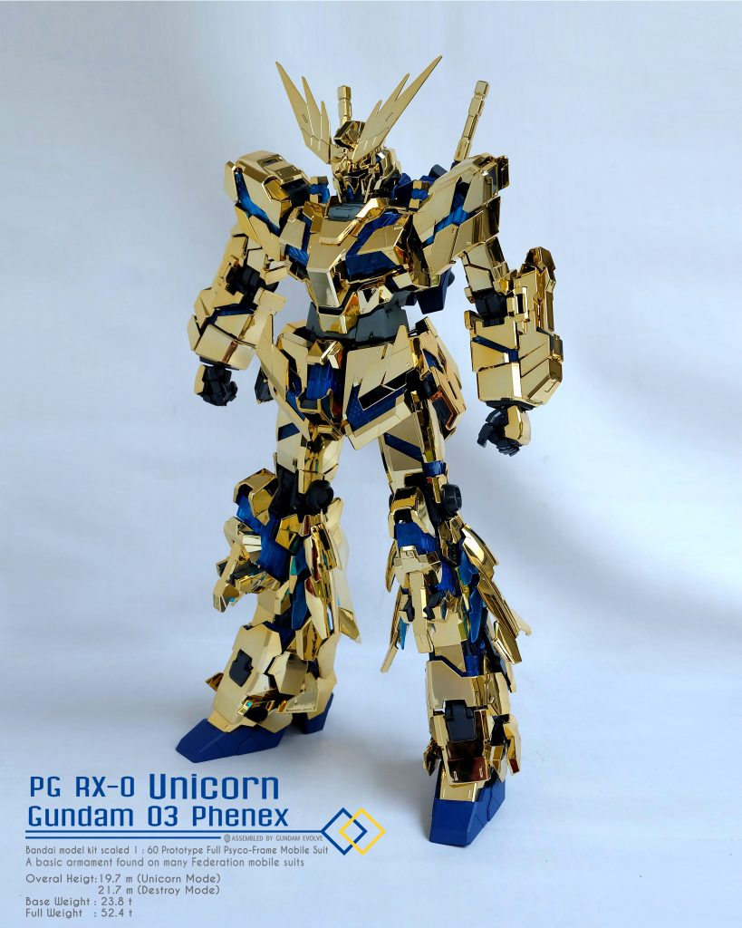 1/60 PG Unicorn Gundam 03 Phenex
